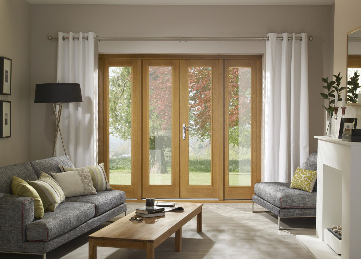 Featured Image of Modern Wooden French Door