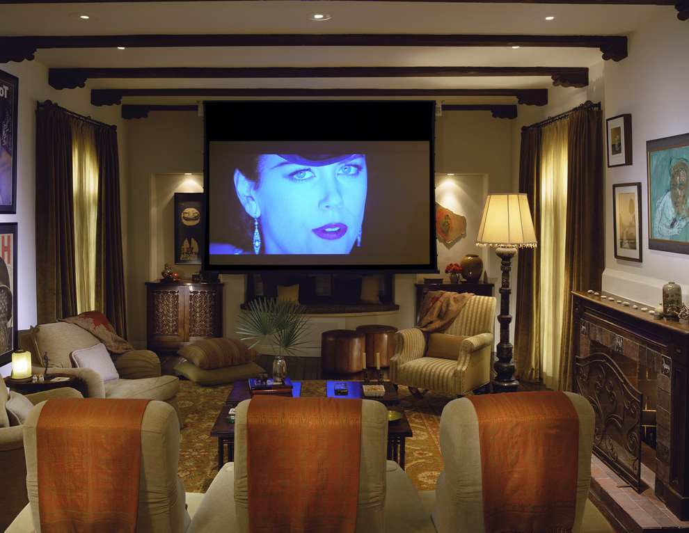 Featured Image of Multipurpose Living Room With Home Theater