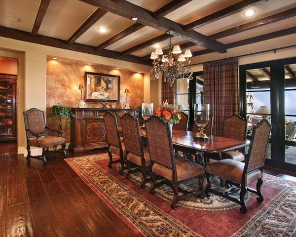 Featured Image of New European Dining Room In Country Style