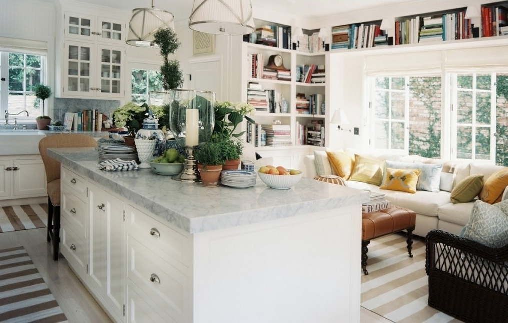 Featured Image of Open Kitchen And Living Room