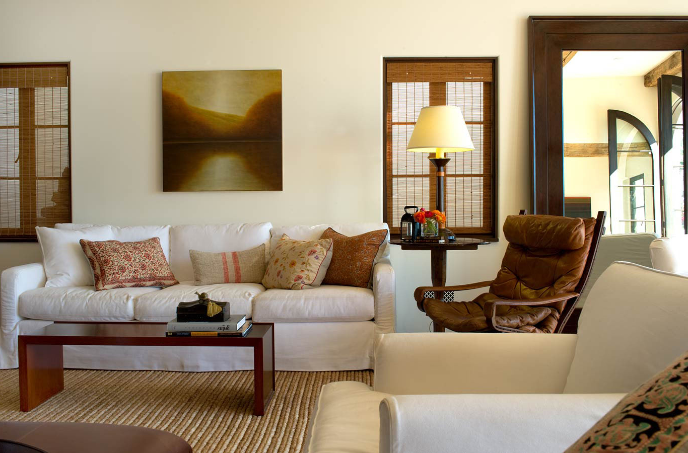 Featured Image of Oriental Atmosphere American Living Room Design