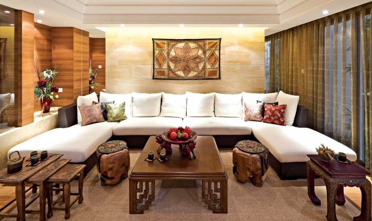Oriental Living Room Sofa #8921 | House Decoration Ideas