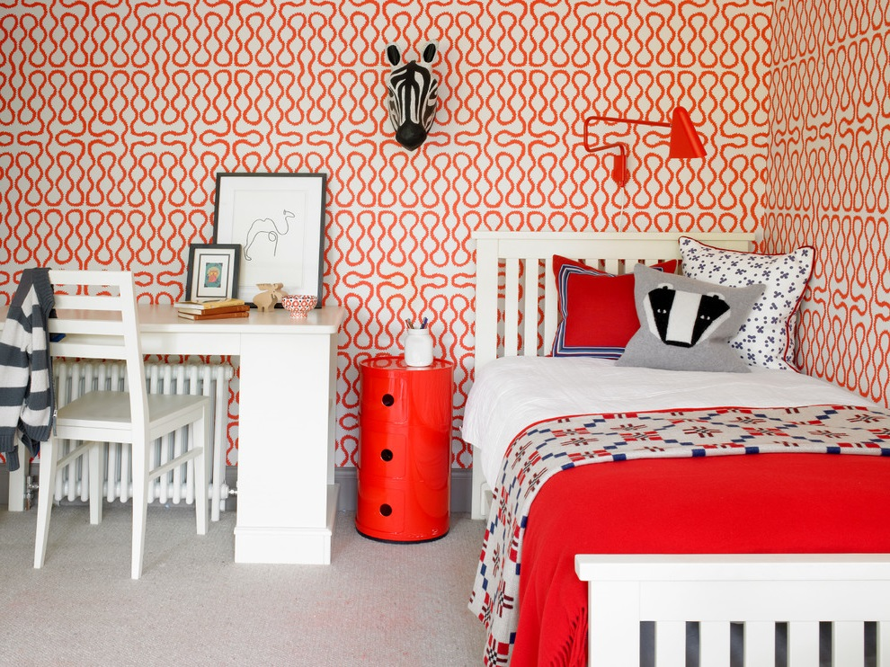 Featured Image of Red Girl Bedroom Theme