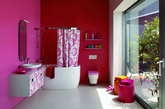 Featured Image of Retro Bathroom Furniture Design Ideas