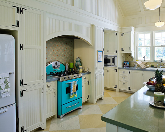Featured Image of Retro Kitchen Furniture Interior Ideas