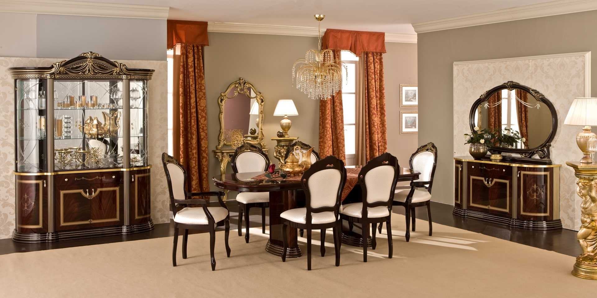 rustic italian dining room in classic look 8426 house decoration ideas. Black Bedroom Furniture Sets. Home Design Ideas