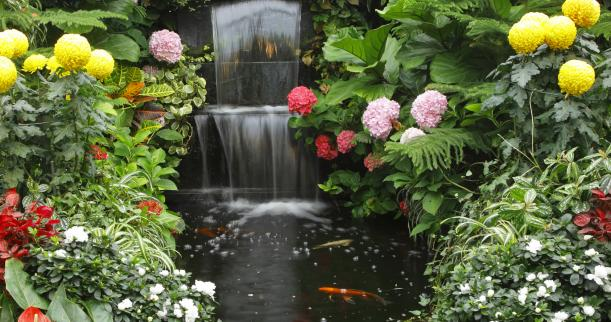 Featured Image of Simple Garden Fountains Ideas