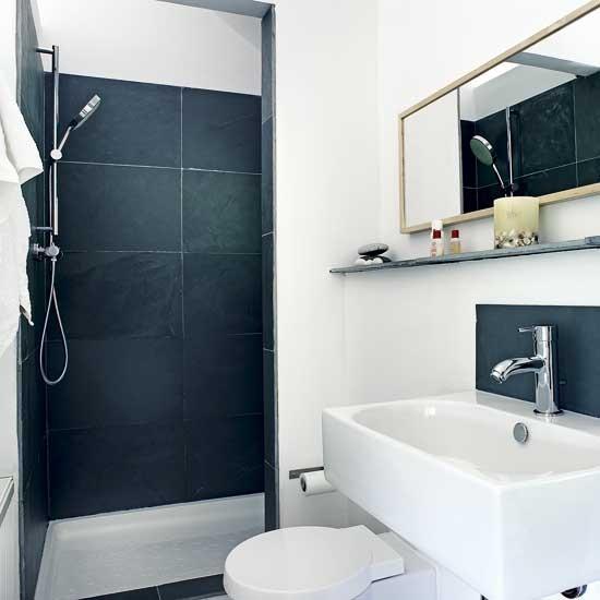 Featured Image of Simple Minimalist Black White Shower Room Ideas
