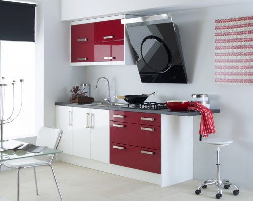 Featured Image of Simple Minimalist Burgundy Kitchen Ideas