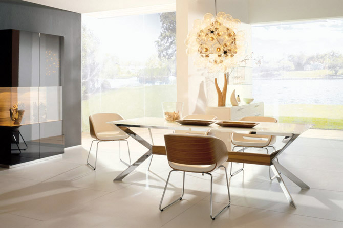 Great Featured Image Of Simple Minimalist Dining Room Furniture Ideas
