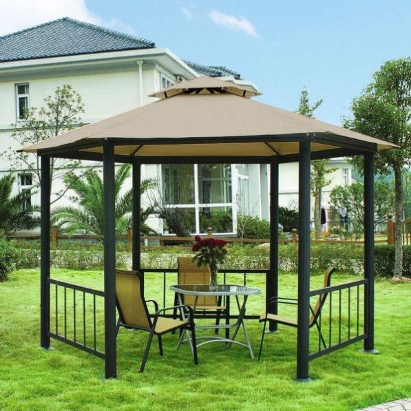 Featured Image of Simple Minimalist Garden Gazebo Design Ideas