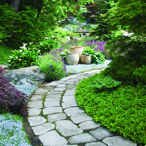 Featured Image of Simple Minimalist Garden Path Ideas