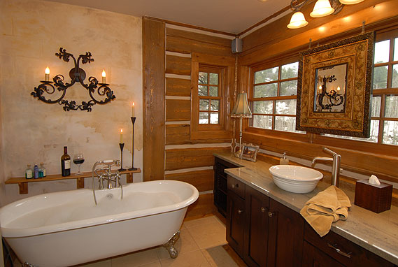 Featured Image of Simple Minimalist Rustic Bathroom Ideas