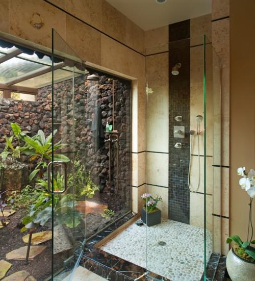 Featured Image of Simple Minimalist Tropical Bathroom Ideas