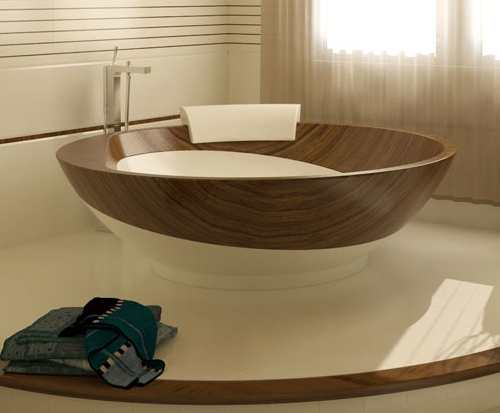Featured Image of Simple Wooden Bathroom Design Ideas
