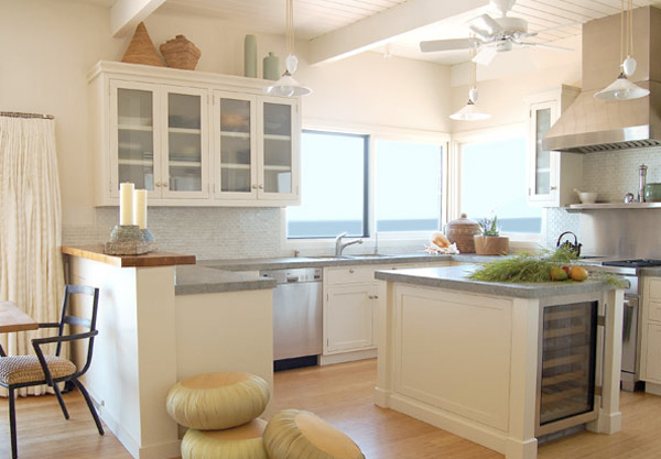 Featured Image Of Small Kitchen Design In American Style