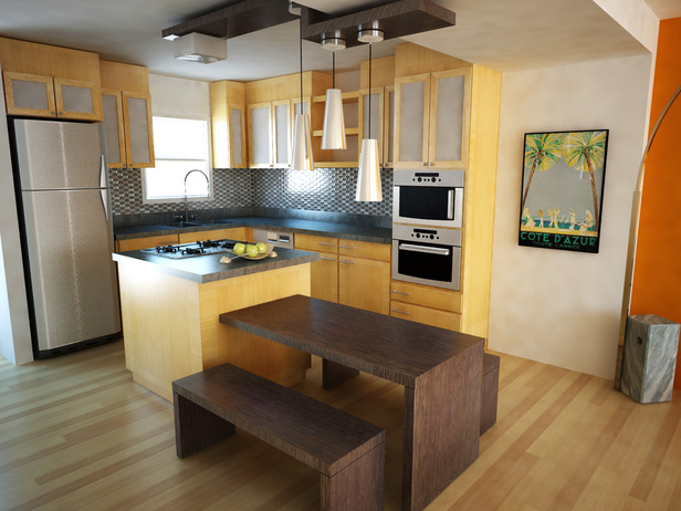 Featured Image of Small Kitchen Interior Design Ideas