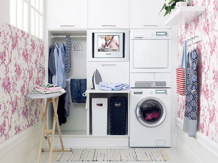 Featured Image of Small Laundry Design Inspiration