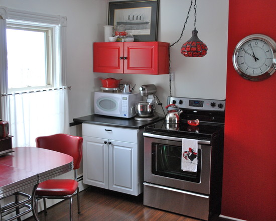 Featured Image of Small Retro Kitchen Design Ideas