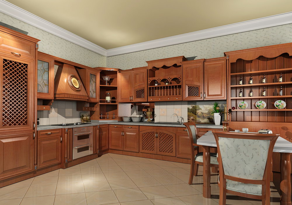 Featured Image of Solid Wood Kitchen Furniture Ideas