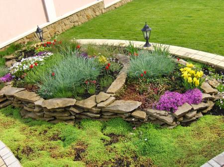 Featured Image of Stone Garden Design Ideas