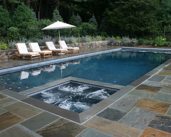 Featured Image of Stone Swimming Pool Design Ideas