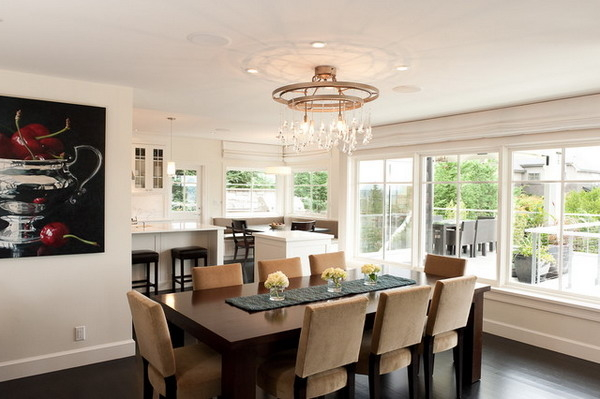 Featured Image of Stylish Dining Room Luxurious Design