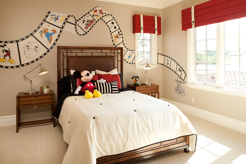 Featured Image of Traditional Bedroom Decor In Mickey Mouse Theme