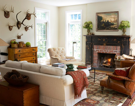 Featured Image of Traditional Brick Fireplace Design Ideas