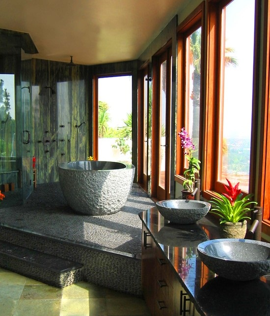 Featured Image of Tropical Bathroom Decoration Ideas