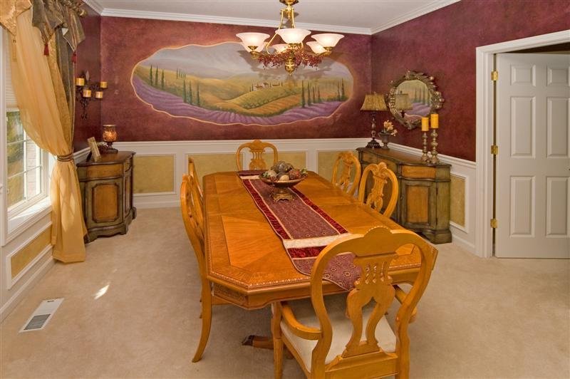 Featured Image of Tuscan Classic Modern Dining Room Furniture