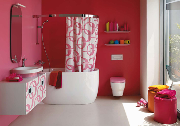 Featured Image of Unique Bathroom Colorful Design Ideas