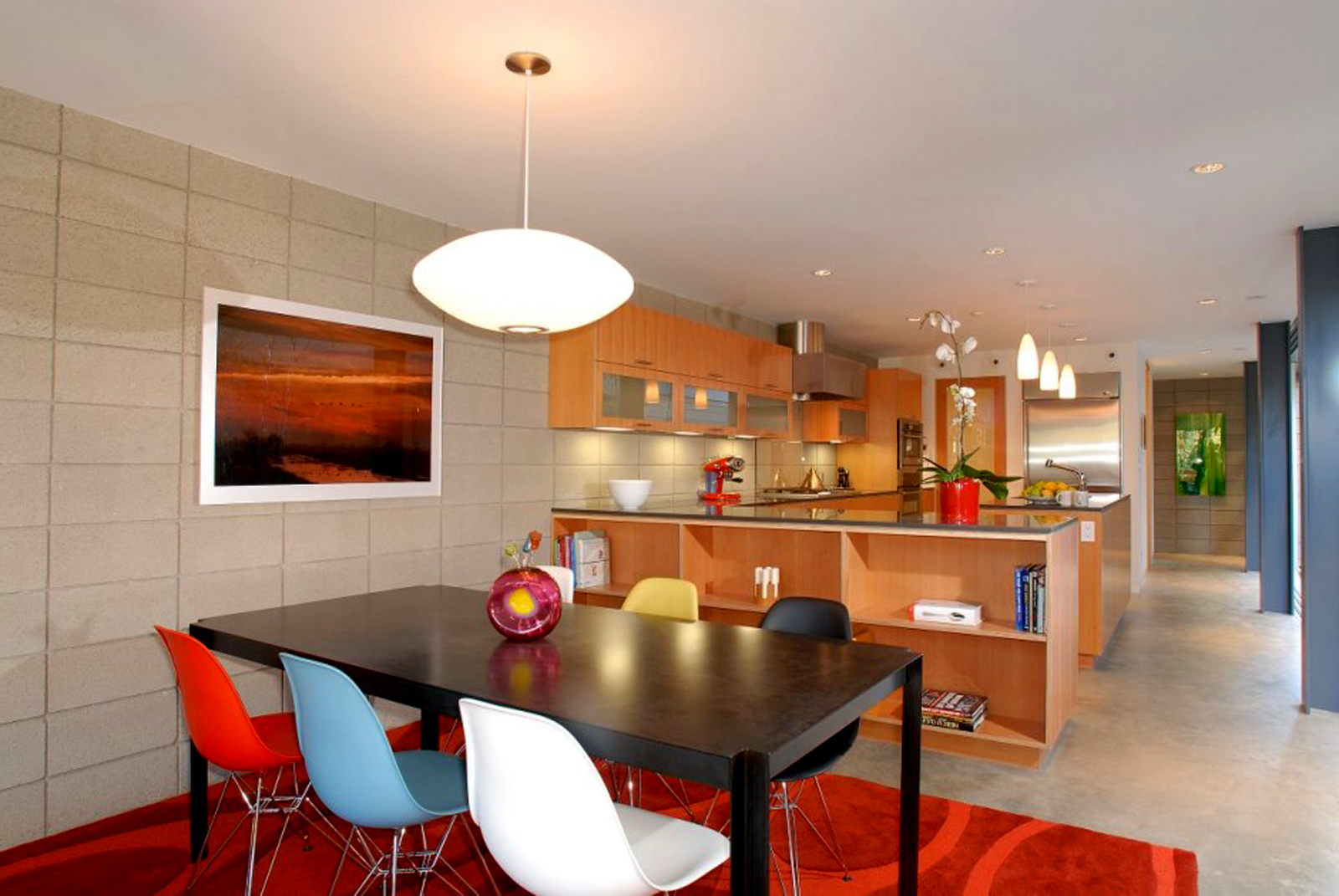 Featured Image of Urban Style For American Dining Room