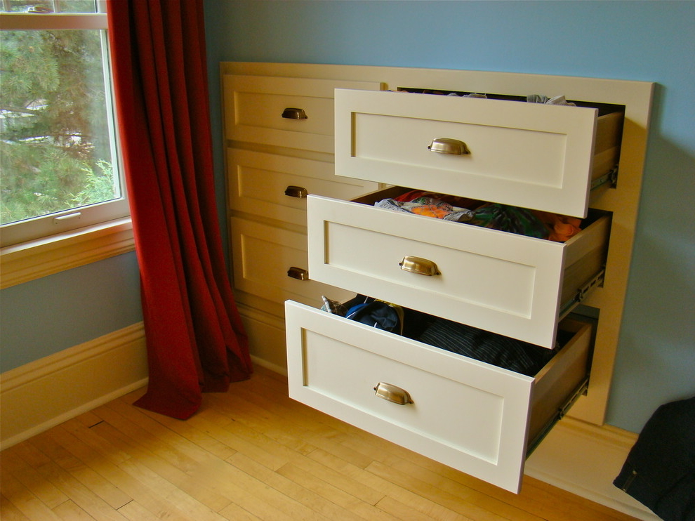 Featured Image of Wall Installed Bedroom Storage
