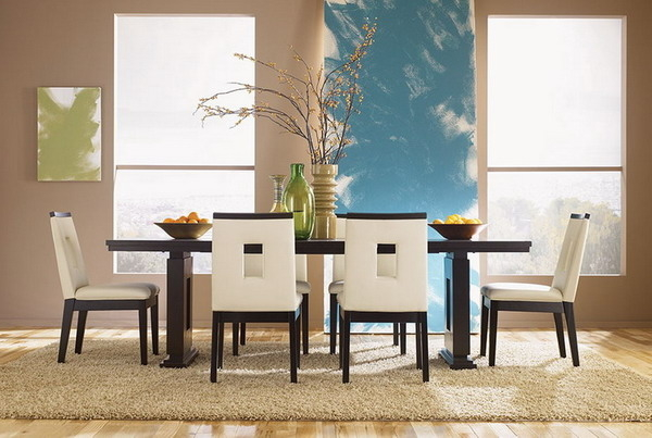 Featured Image of White Italian Lacquer Dining Room