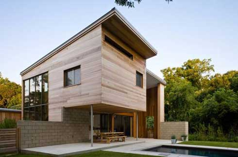 Featured Image of Wood House Modern Design Inspiration