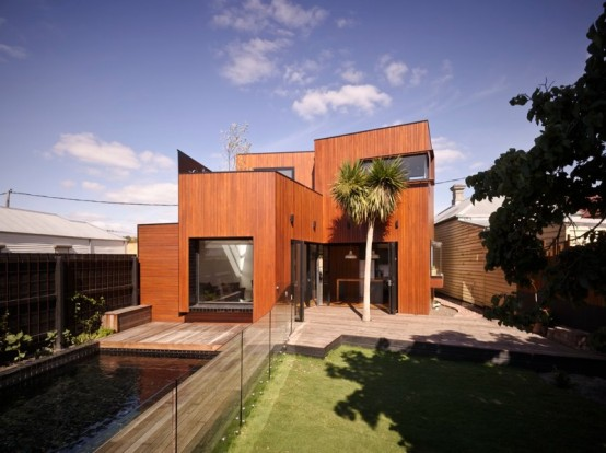 Featured Image of Wood House Modern