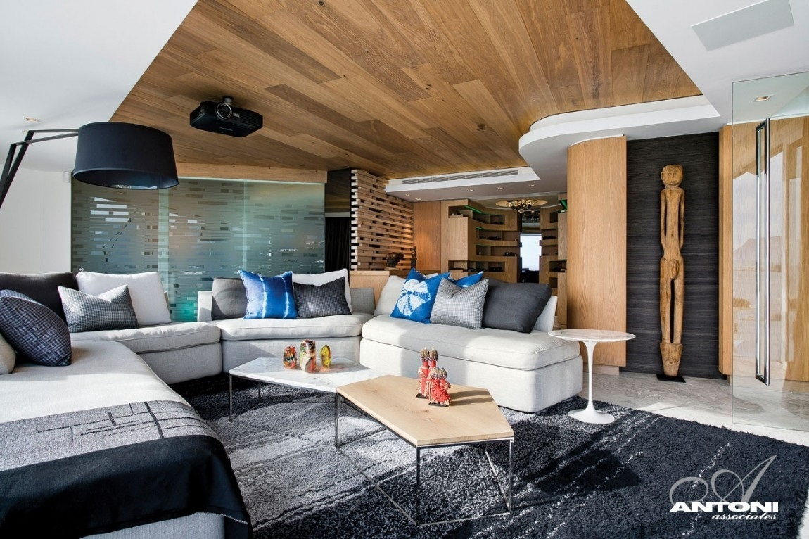 Featured Image of Wood Plank Ceiling In Apartment