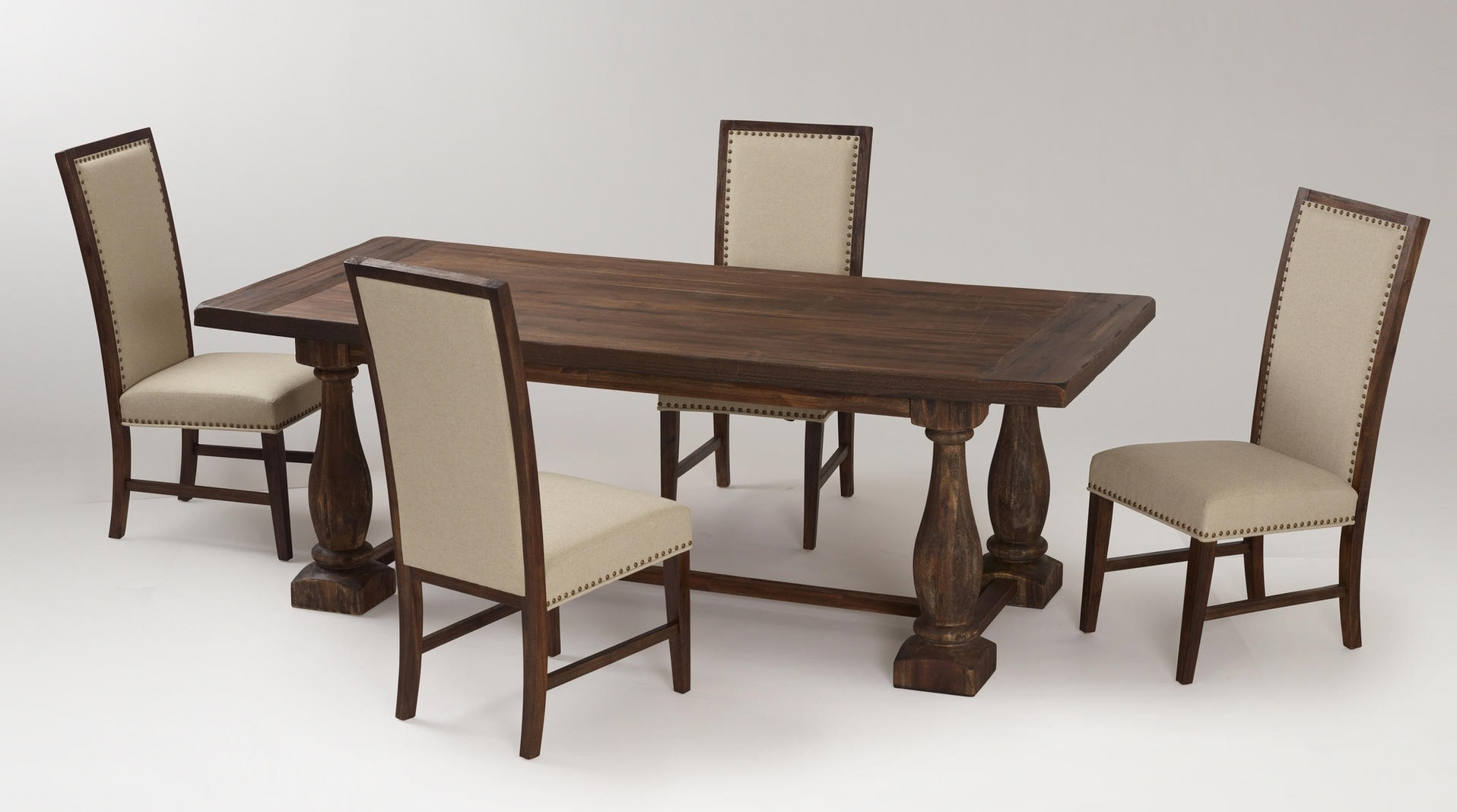 Featured Image of Wooden European Style Dining Room Furniture Set