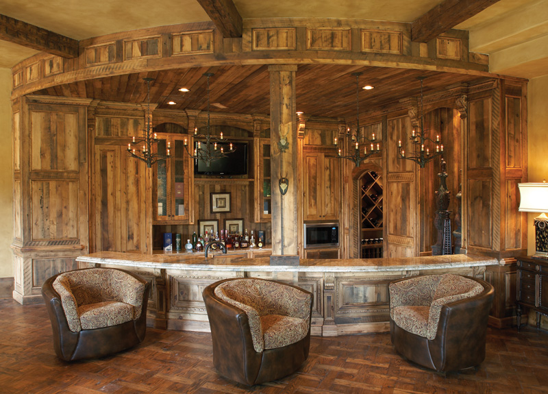 Featured Image of Wooden Home Bar Design Ideas