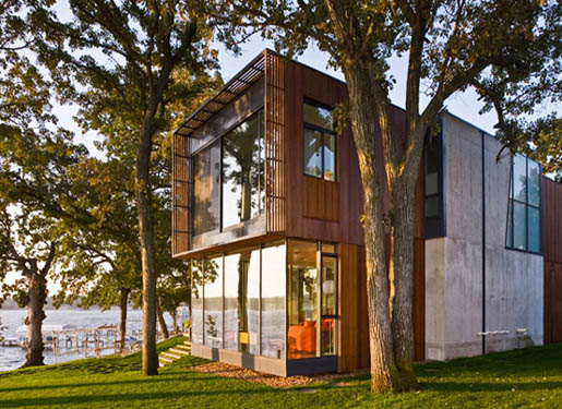 Featured Image of Wooden House Modern