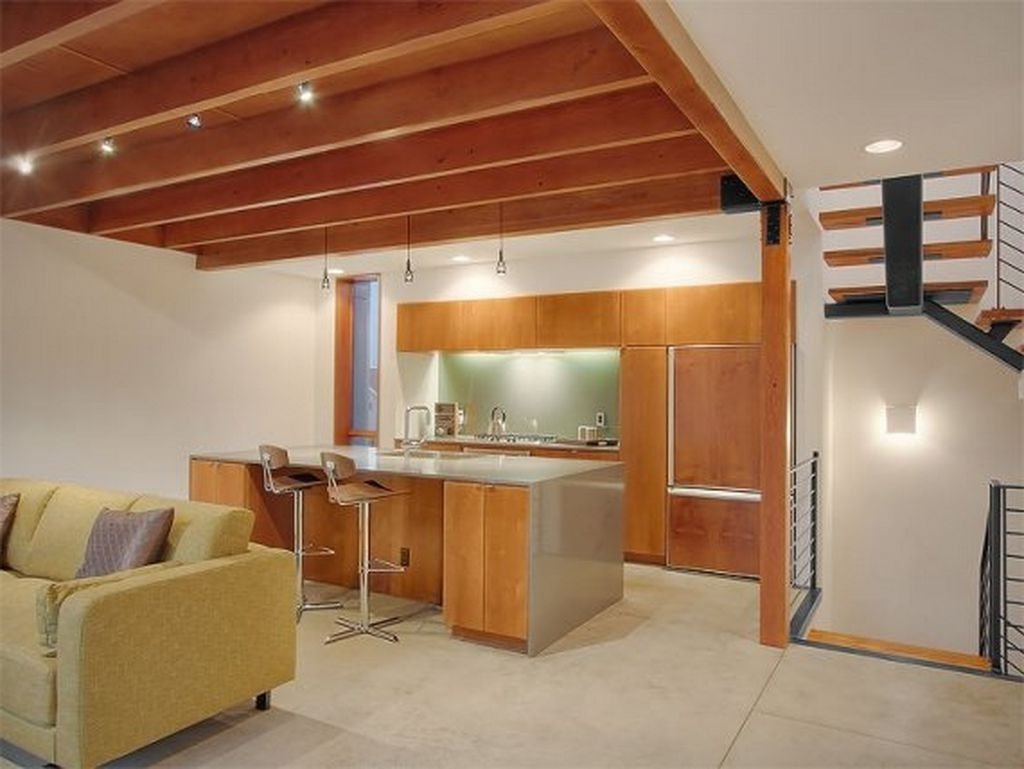 Featured Image of Wooden Kitchen Ceiling