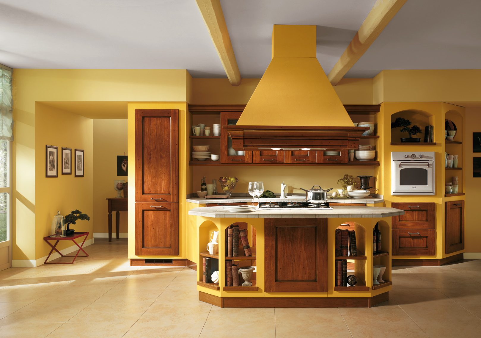 Featured Image of Yellow Italian Kitchen Color Schemes