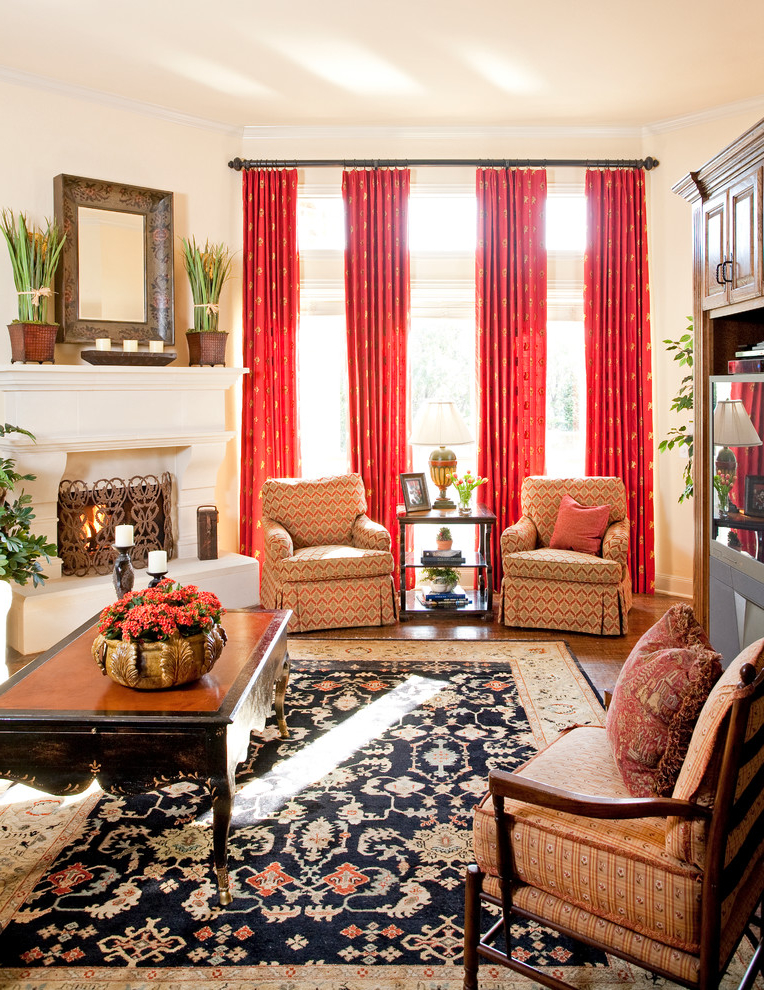 Featured Image of Beautiful Curtain For Classic Living Room