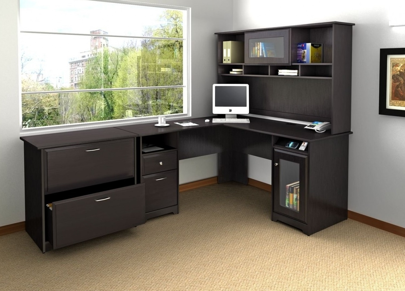 Featured Image of Beautiful Modular Corner Desk Home Office