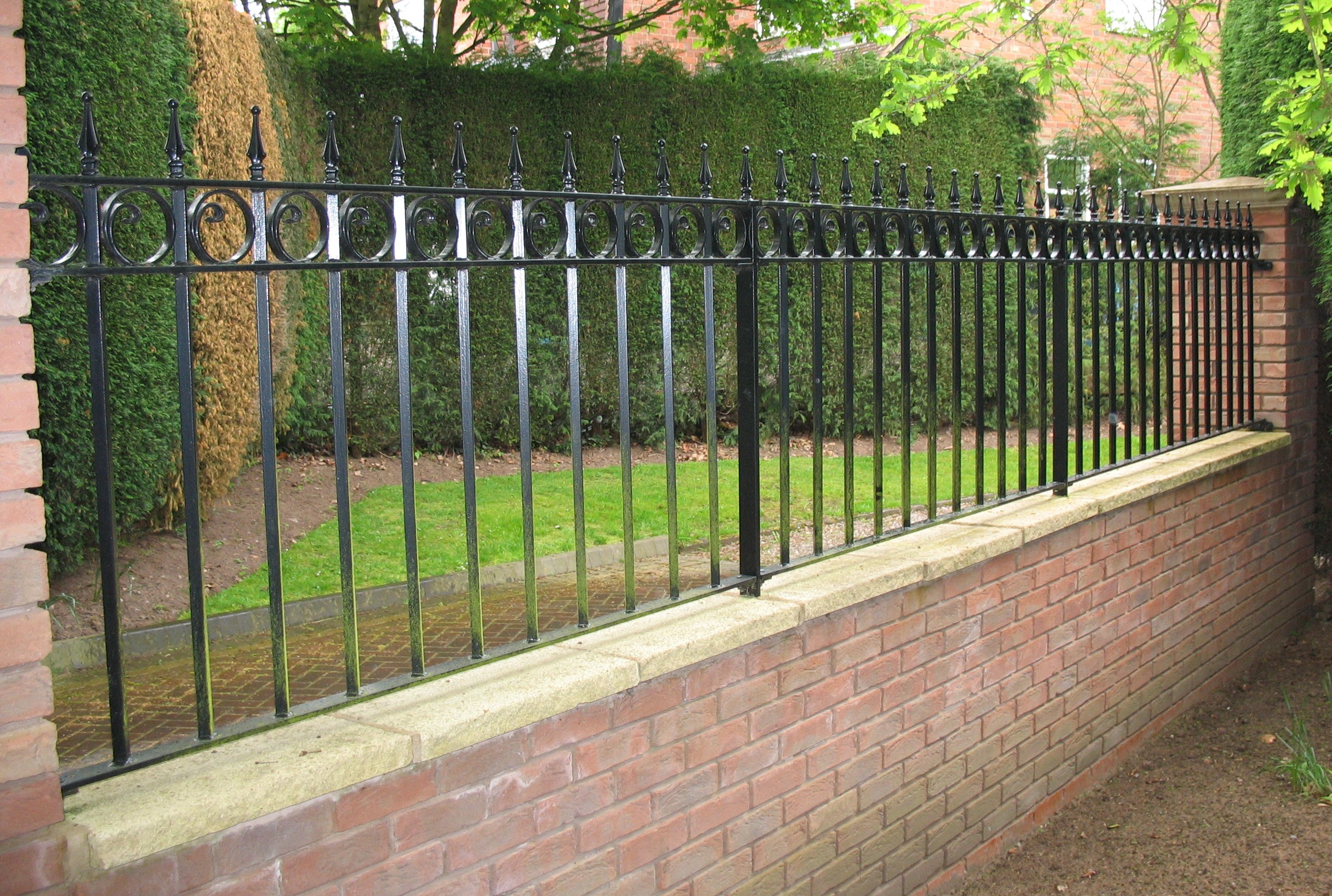 Featured Image of Best Wall Railings Designs Fencing Wall Mounted Railings