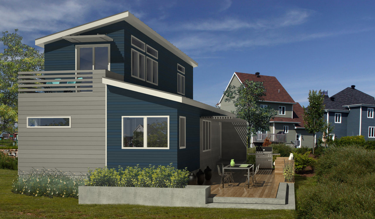 Featured Image of Build A Prefab Modern Home Architecture