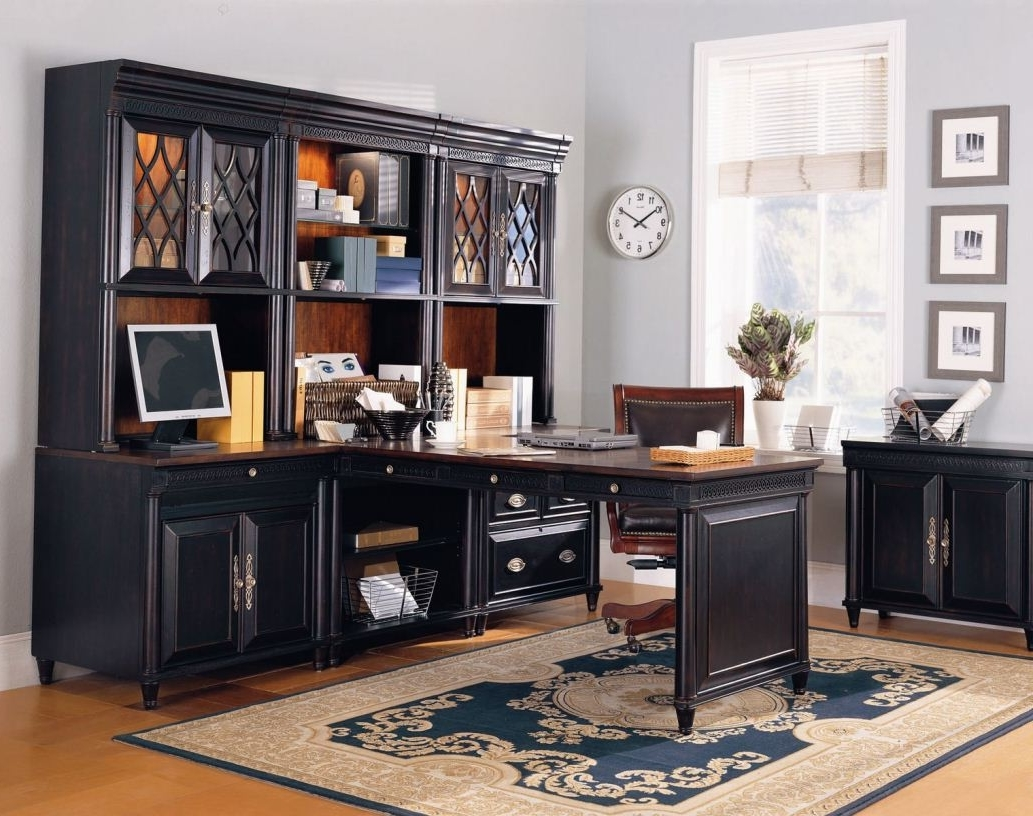 Featured Image of Classic Wooden Custom Modular Home Office Furniture