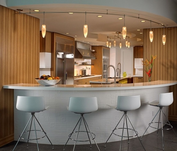 Featured Image of Contemporary Home Bar Furniture And Lighting Ideas