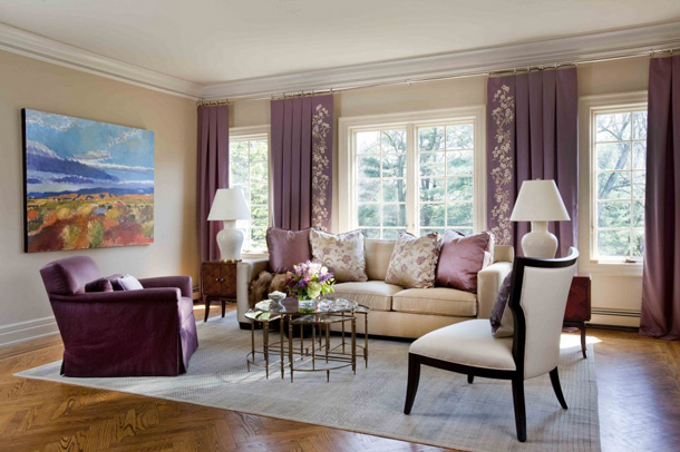 Featured Image of Cute Pink Living Room Curtain
